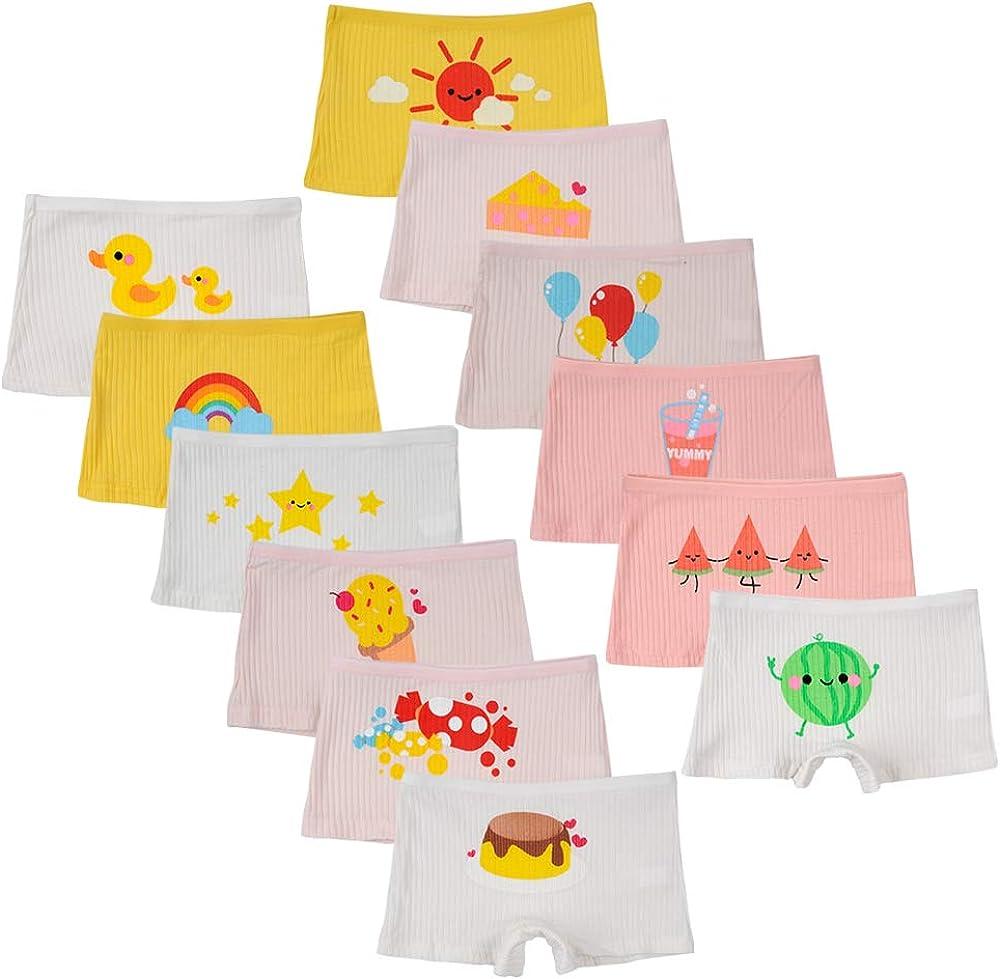 Serie di 12 per Bambini Kidear Intimo Assortiti per Bambini