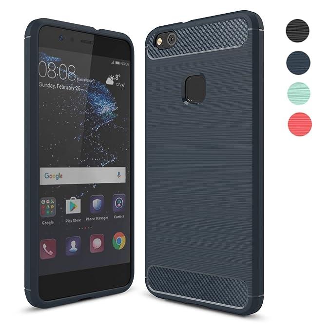11 opinioni per Huawei P10 Lite 2017 Cover Custodia, Amytech Flexible TPU Custodia Slim Fit