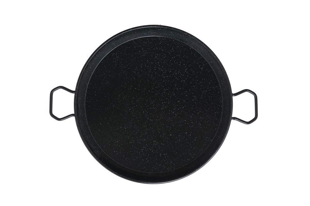 Mabel Home 25.5-inch Enamaled Steel Paella Pan, 65cm Ringg 65