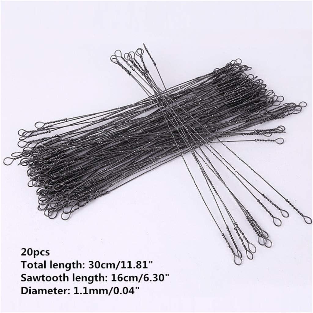 Tel que montr/é Acier /à haute teneur en carbone. 30cm//11.81 SmallJUN Lot de 20 lames de scie sauteuse 30//50 cm
