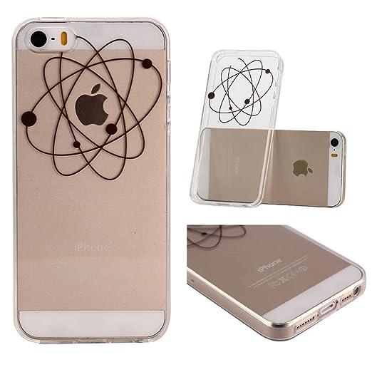 5 opinioni per iPhone 6 / iPhone 6S Cover , YIGA Nero Semplice Trasparente Silicone Cristallo