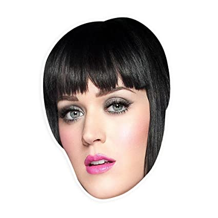 Katy Halloween Events | Amazon Com Unwelcome Greetings Bored Katy Perry Mask Perfect For