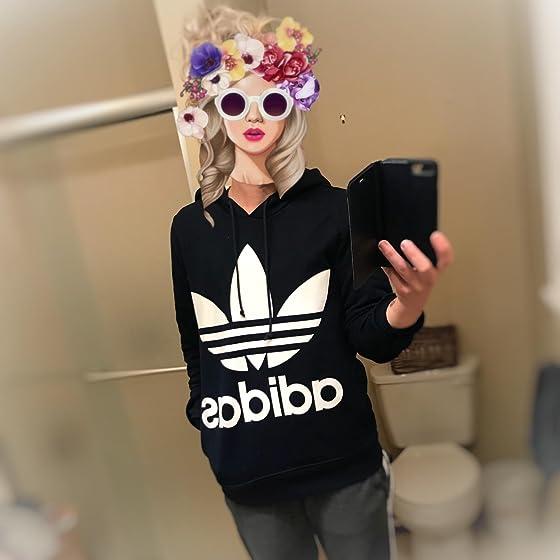 adidas Originals Women's Trefoil Hoodie Ooooh so cute❤️