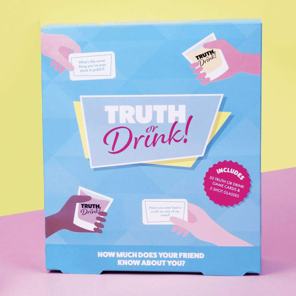 Fizz Creations 1604 Truth or Drink Game, Multi Colour