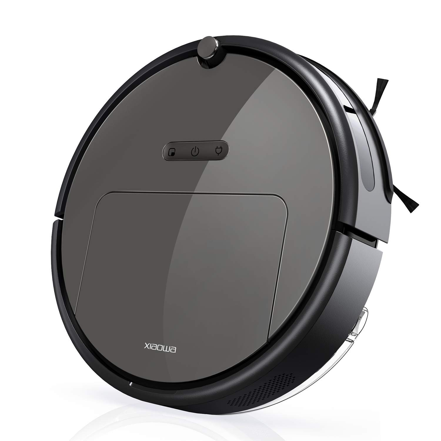 Roborock E25 Robot Vacuum Cleaner Sweeping and Mopping Robotic Vacuum Cleaning Dust and Pet Hair, 1800Pa Strong Suction and App Control, Route Planning on Hard Floor, Carpet and All Floor Types