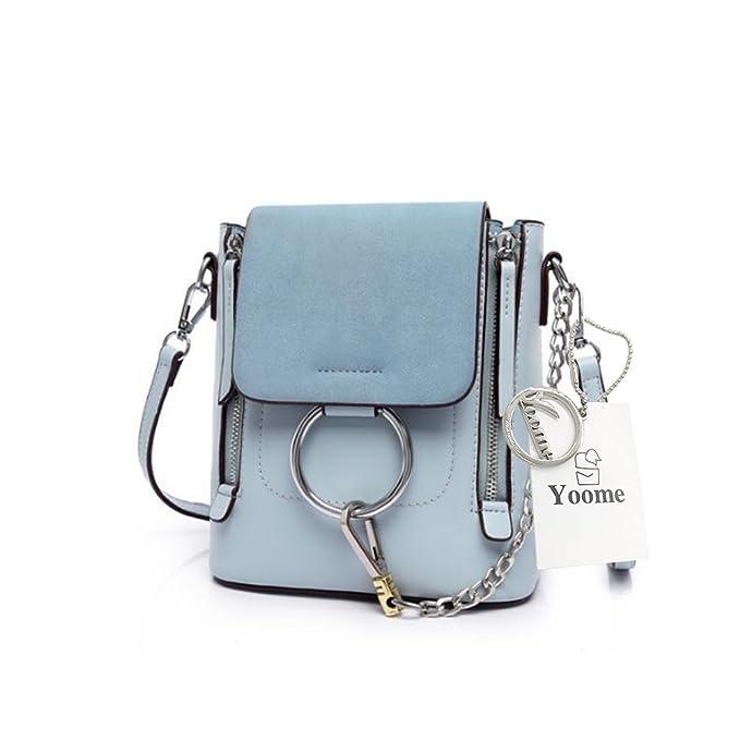 Woolala Casual Damen Retro Circular Ring Chain Bag Fashion Dull Polnischen Make Up Tasche Für Mädchen by Amazon