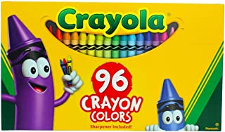 product image for Crayola 52-0096 Crayon Box With New Specialty Crayon Samples 96 Count