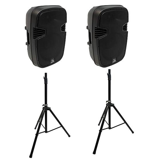 Amazon.com: Harmony Audio - Altavoces PA de 12 pulgadas con ...
