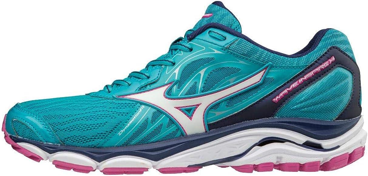 Mizuno Wave Inspire 14, Zapatillas para Mujer, Multicolor (PBlue ...