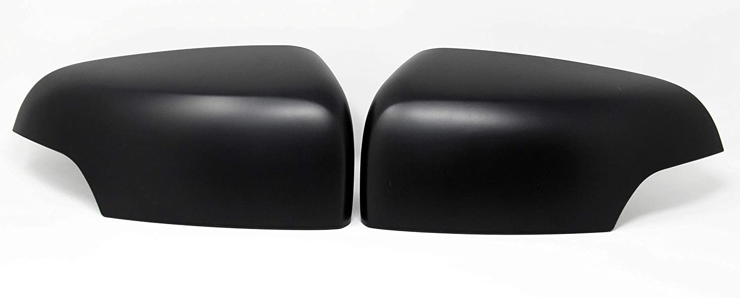 Connis Limited FRT6MC2012B Matte Black Side Door Wing Mirror Covers