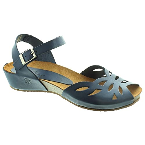 9cd36c281 Yokono - Ladies Capri 023 Flat Sandals In Navy