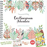 THE PERFECT HONEYMOON GIFT - Unconditional Rosie Honeymoon Memory Journal with Matching Card and Emoji Stickers!