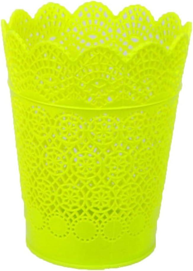 Daorier Multifonction Pot /à Crayons en Plastique Rangements Stylo Organisateur de Pinceau de Maquillage Seau de Stockage de Bureau Art D/éco 1 Pcs