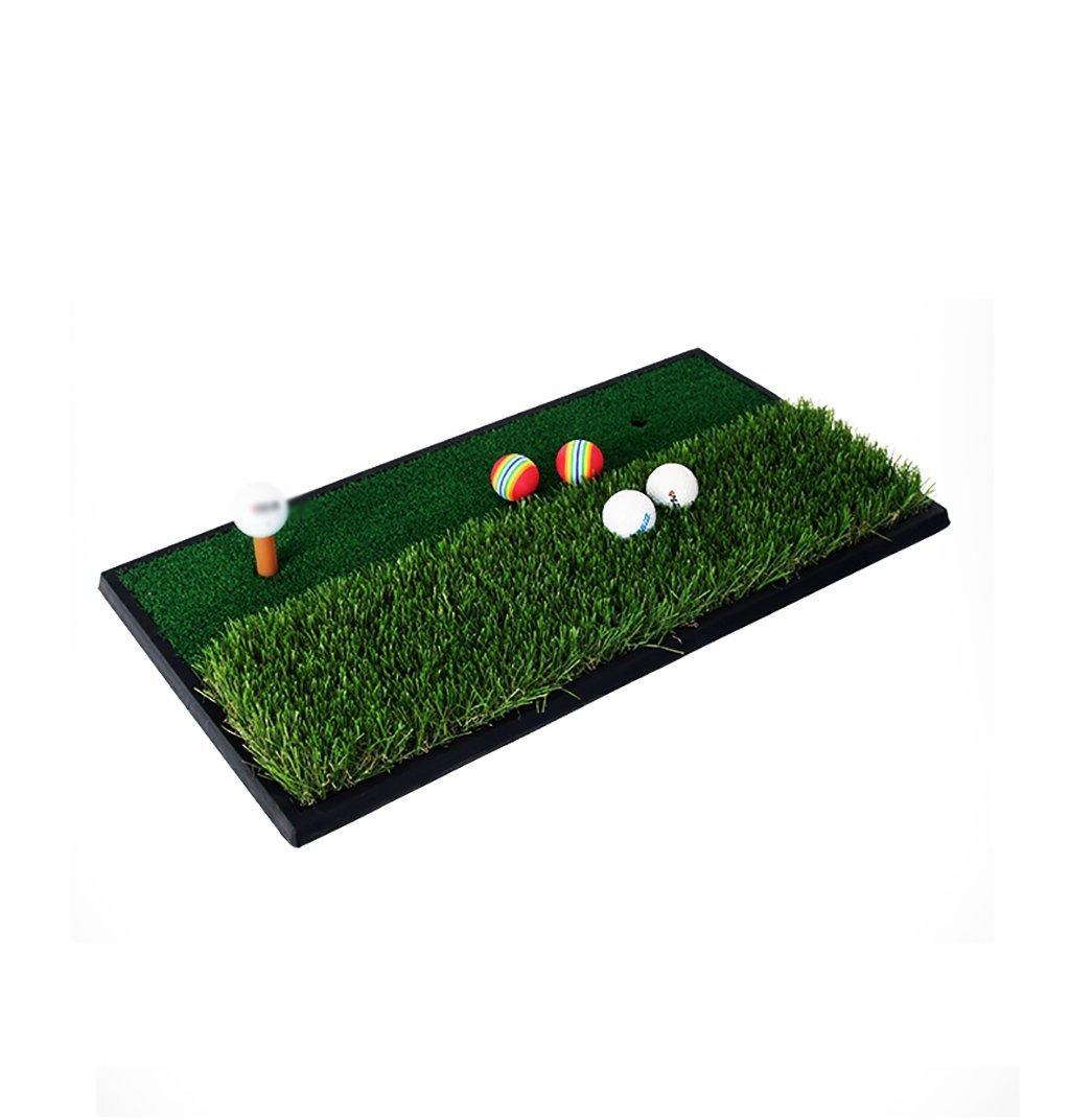SpdzゴルフダブルGrassマット屋外屋内スイング練習マット練習マットゴルフマットアウトドアパター練習Blanket 6333 CM   B07G2Y2LG9