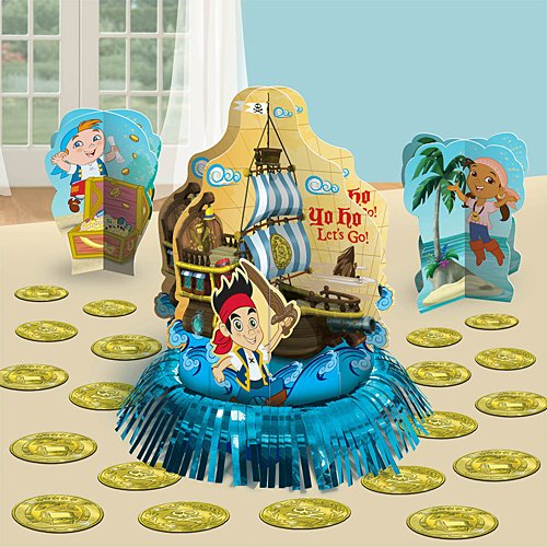 Amscan AMI 281288 Jake and the Neverland PiratesTable Decoratging Kit, AMI 281288 1, -