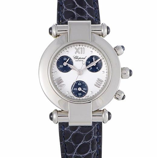 Chopard Imperial Cronógrafo para mujer reloj de cuarzo Lady 388378 - 3001 (Certificado) de segunda mano: Chopard: Amazon.es: Relojes