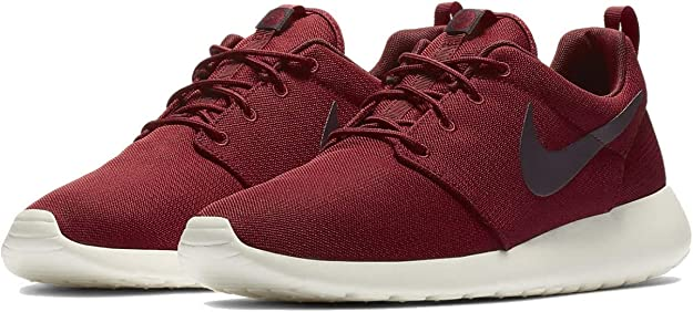 Nike Mens Roshe One Running Sneaker Team Red/Burgundy/Ash-Sail 511881-613 (9 D US)