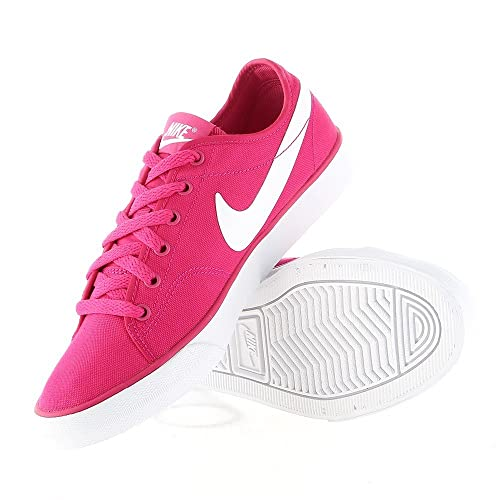 new arrival 14834 50ec6 Nike Primo Court Canvas Fire Berry White Size 8.5 US Womens  Amazon.ca   Shoes   Handbags
