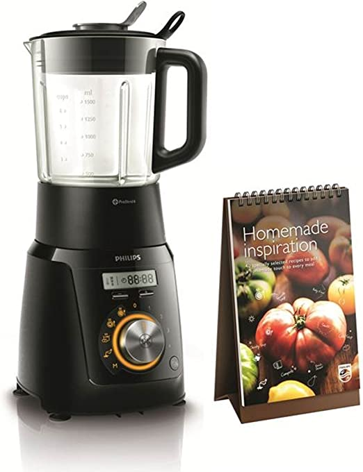 Philips Robot de Cocina HR2099/90-Robot, 40 programas, Jarra ...