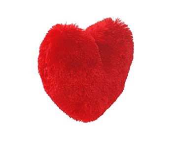 Rebuy Super Soft Rose Red Heart DiL - 50 cm (Red) Gift Your Valentines