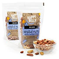 2-Pack Happy Belly Deluxe Mixed Nuts, 16 Ounce Deals