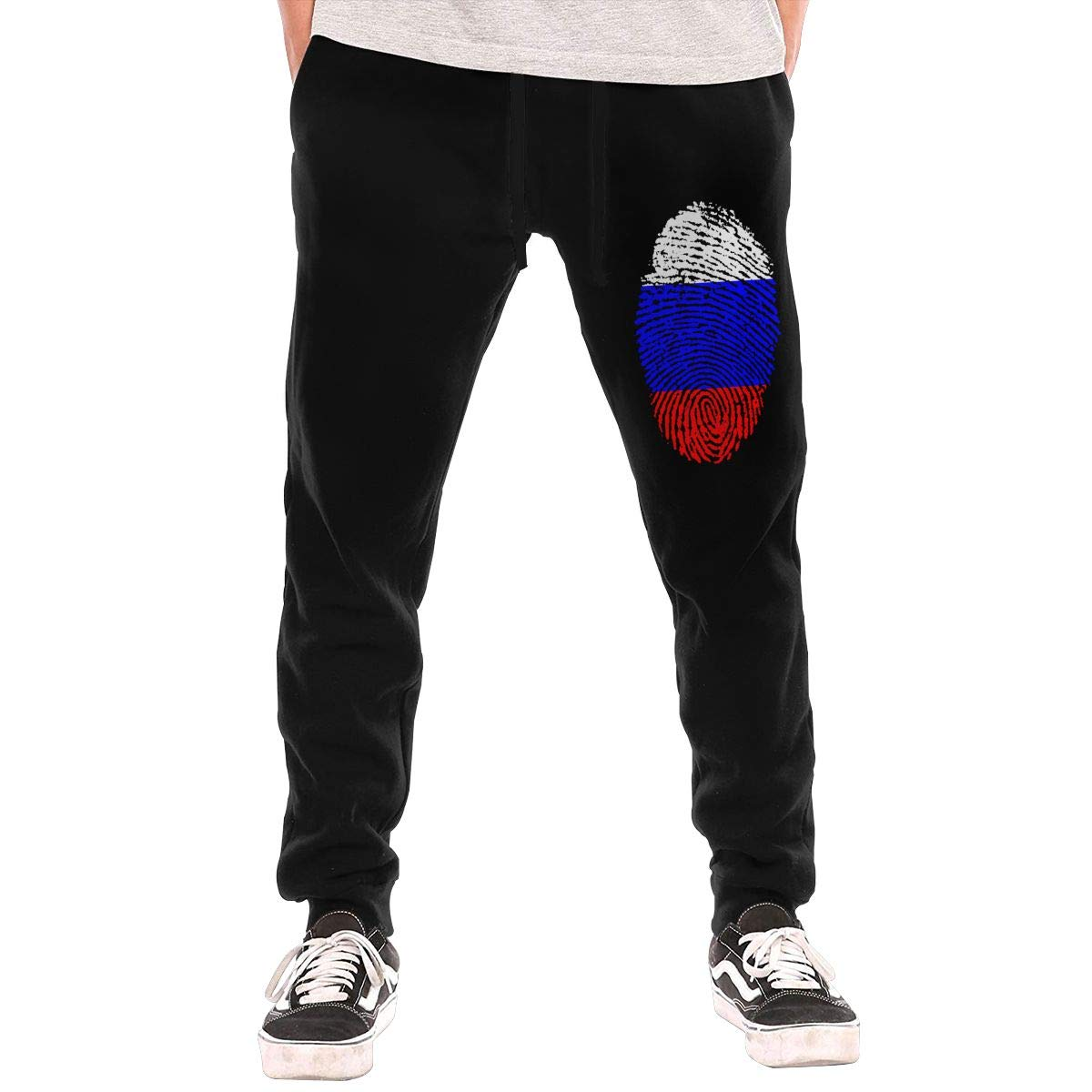 Russia Casual Joggers Lounge Pajama Gym Workout Pants Casual Long Pants for Men