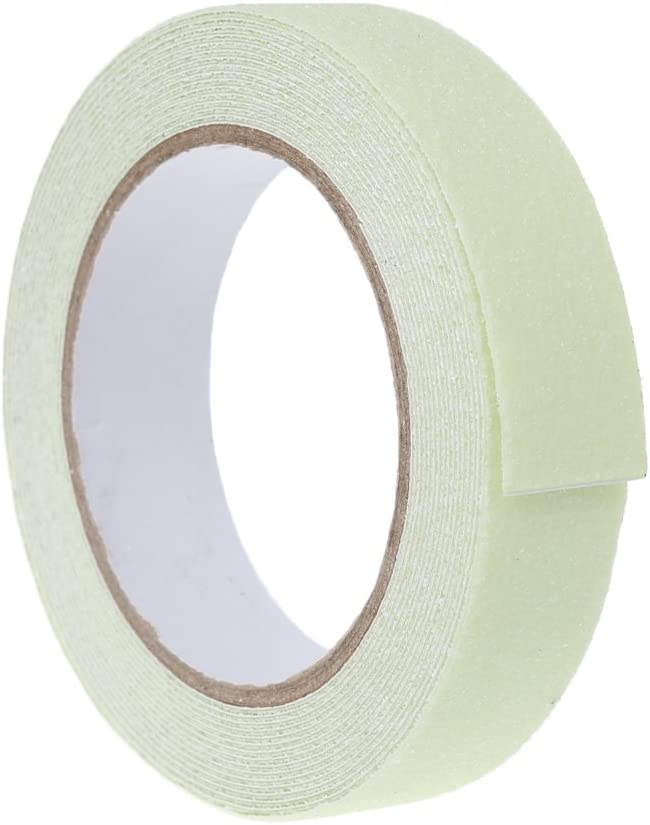 niumanery 2.5CMx5M Floor Safety Luminous Non Skid Tape Adhesive High Grip Anti Slip Paster