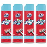 Resolve High Traffic Carpet Foam, Crisp Linen 88 oz (4 Cans x 22 oz), Cleans Freshens Softens & Removes Stains