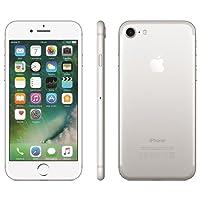 """Apple iPhone 7 Prateado 256GB com 4,7"""", iOS 10, Processador A10, 4G, Câmera de 12 MP Desbloqueado"""
