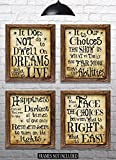 Harry Potter Quotes & Sayings - Set of 4 - 8