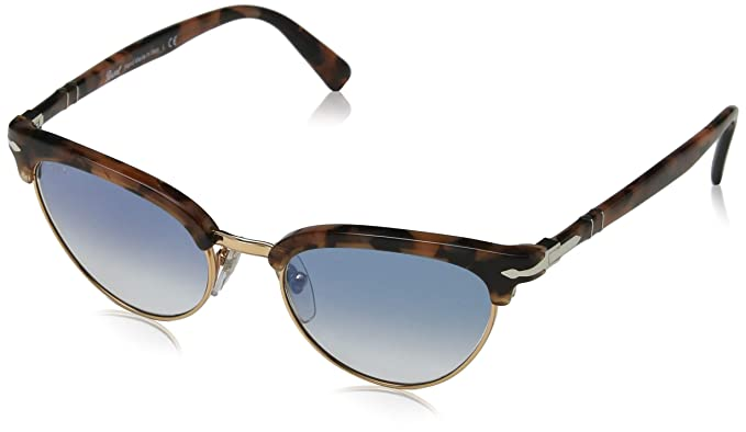 Persol 0PO3198S Gafas de sol, Ojos de gato, 50, Tortoise ...