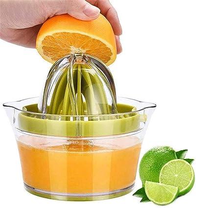 Exprimidor de limón cítricos exprimidor de naranja manual exprimidor de cal prensa antideslizante tapa de rotación