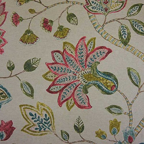 P/Kaufmann Fabrics Throwback Jewel Jacobean Floral for sale  Delivered anywhere in USA