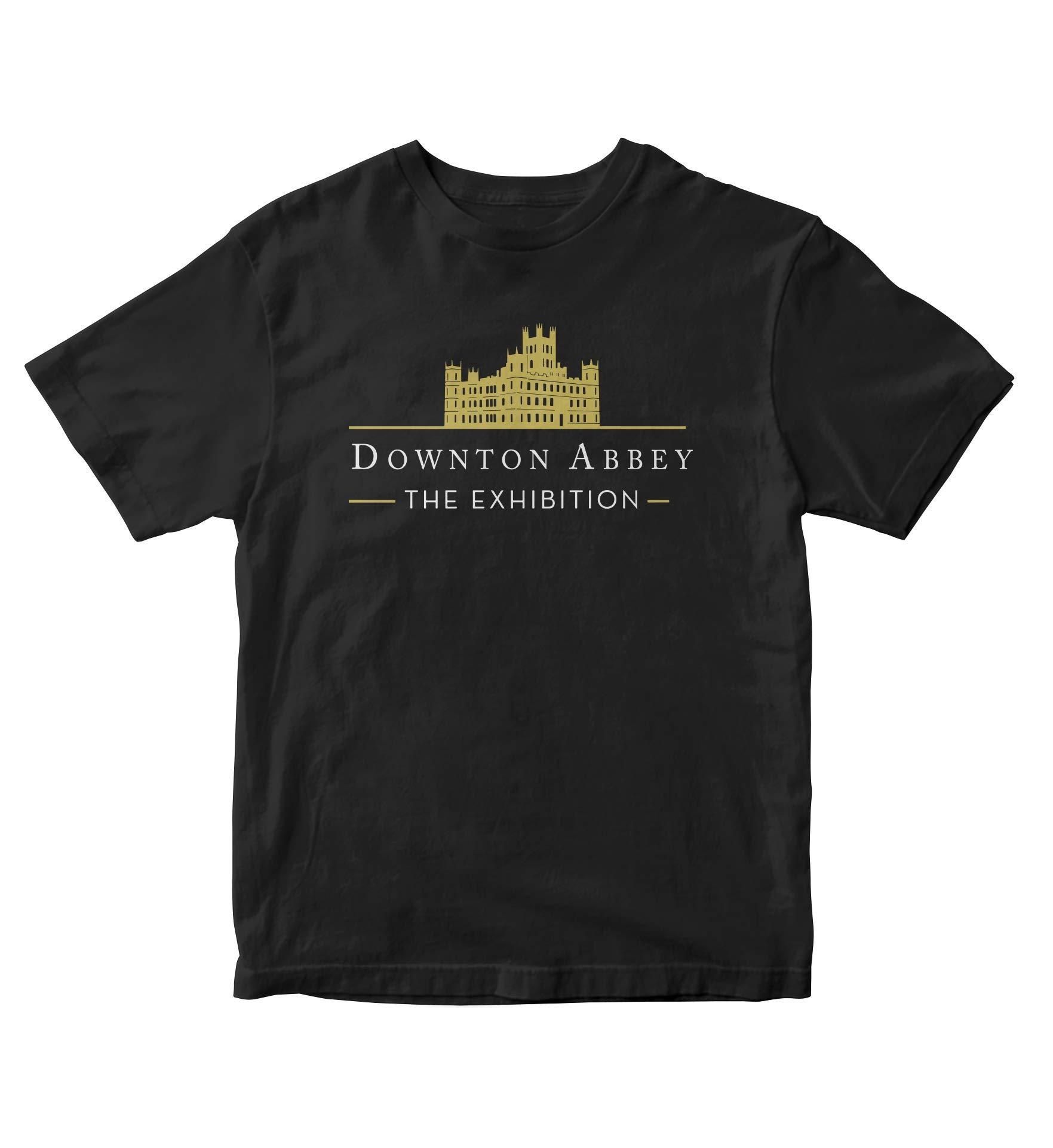 Tjsports Downton Abbey The Exhibition Black Shirt S Tv Show M172