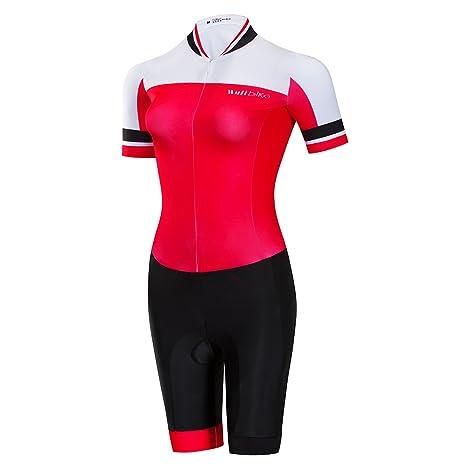 nouveaux styles ac4ea e83de logas Combinaison Trifonction Femme Maillot Triathlon sans Manche