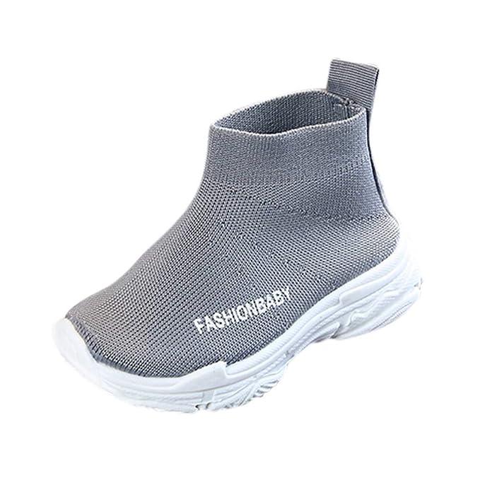 e28757af289b0f UOMOGO Scarpe Bambino Sportive - Donna Sneakers Scarpe da Ginnastica  Ragazze Interior Casual all'Aperto