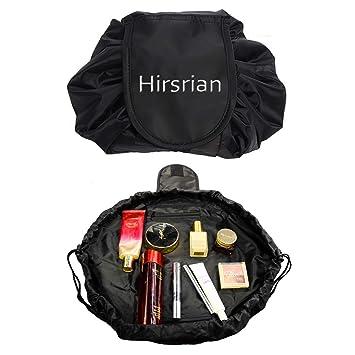makeup bag eBuy Lazy Cosmetic Bag Toiletry Large Capacity Fashion  Drawstring Portable Travel Storage bag for Women Girls  Amazon.co.uk   Luggage 821e0a5708