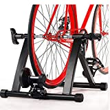 Indoor Exercise Bicycle Trainer Magnetic 5 level Resistance Stand Stationary Quiet design