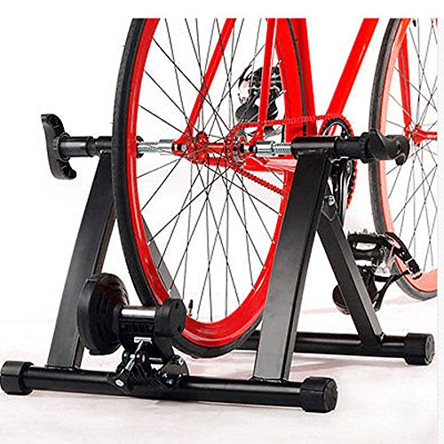 Indoor Exercise Bicycle Trainer Magnetic 5 level Resistance Stand Stationary Quiet design by Unknown