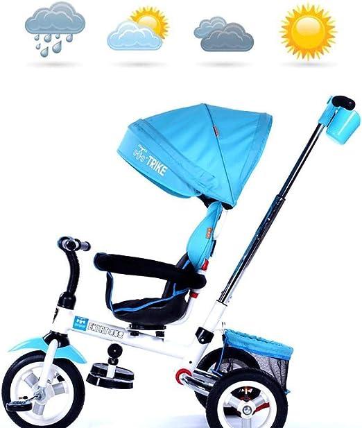 SANLUNCHE Triciclo Pie Del Bebé Plegable Aprendizaje Equilibrio ...