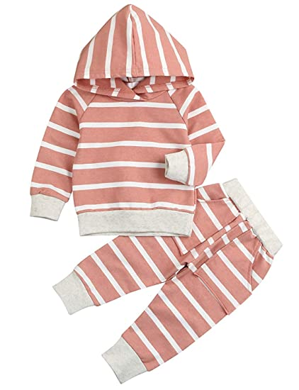 02f982104 Amazon.com  Baby Boys Girls Clothes Long Sleeve Hoodie Tops ...