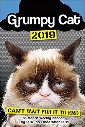 Grumpy Cat 2019 18 Month Weekly Planner Sellers Publishing