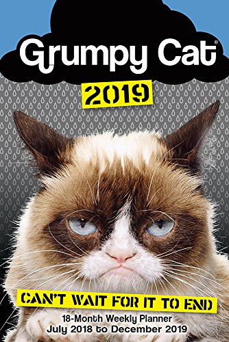 Grumpy Cat 2019 18-Month Weekly Planner by Sellers Publishing