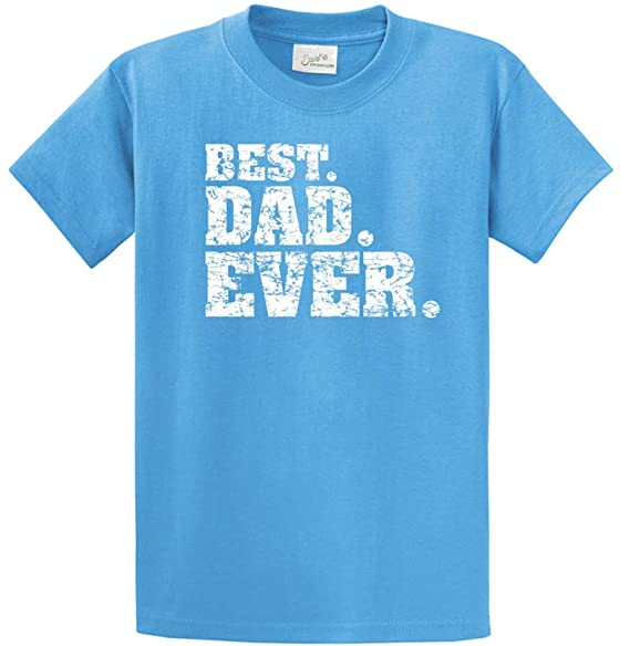 eb9456be8 Image Unavailable. Image not available for. Color: Joe's USA Best Dad Ever  Logo T-Shirts -Great Fathers Day Shirt-S