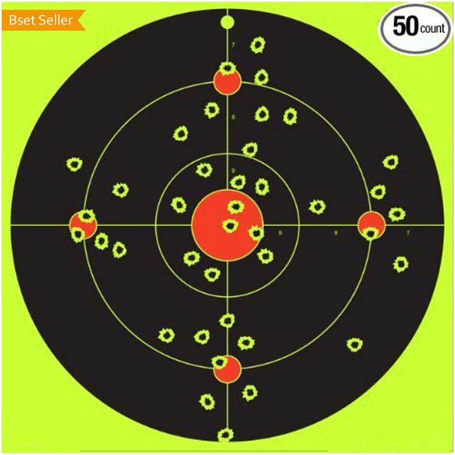 Autocollants Adh/ésifs en Papier Cible Spot Pratique 8 Pouces sharprepublic 20x Carabine /à Air