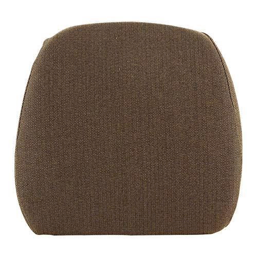 Backrest Hydraulic or Mechanical Seat Fabric Brown for John Deere 6600 4255 2355 4455 7720 4840 4030 4040 4430 4440 4850 8430 4055 4755 7200 4250 4650 6620 7700 9400 2750 4050 4230 4240 4450 4630 4640