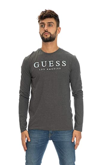 Guess T-Shirt Manches Longues Homme M84i0