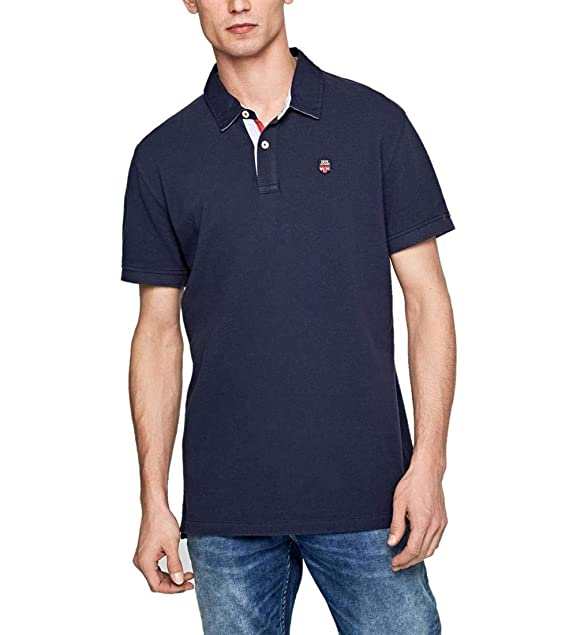 Pepe Jeans - Polo Peter Hombre Color: 563 Steel Blue Talla: Size ...