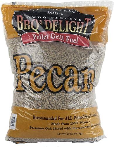 Pecan-Flavor-BBQR's-Delight-Smoking-BBQ-Pellets-20-Pounds