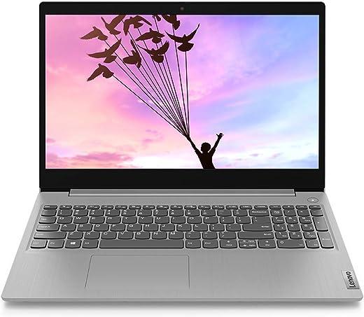 Lenovo Ideapad Slim 3 AMD Athlon Silver 3050U 15.6 inch HD Thin and Light Laptop (4GB/1TB HDD) Platinum Grey